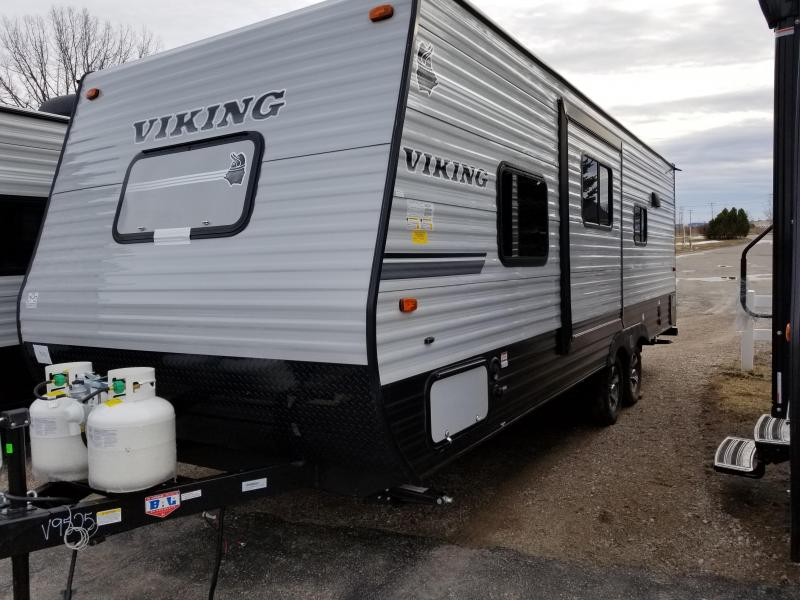 2018 Viking RV 21FQS Travel Trailer