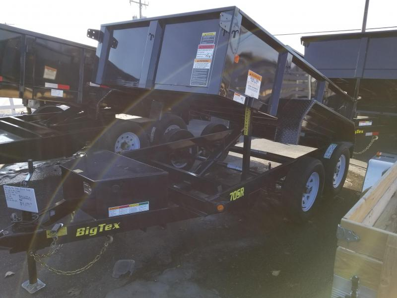 2018 Big Tex 70SR-10 Dump Trailer