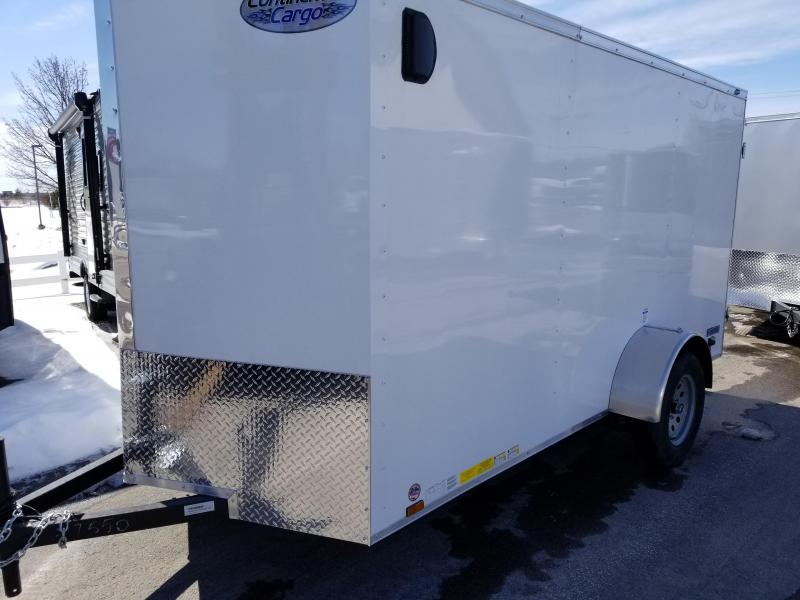 2018 Continental Cargo 6x12 Enclosed Cargo Trailer