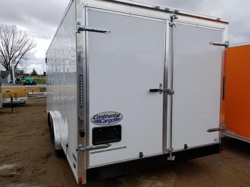 2019 Continental Cargo 8X20 Enclosed Cargo Trailer