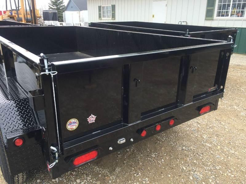 2017 Big Tex 5 X 10 Dump Trailer