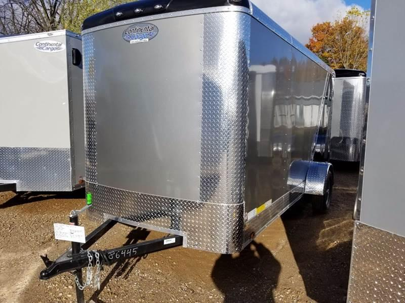 2018 Continental Cargo 6 X 14 Enclosed Cargo Trailer