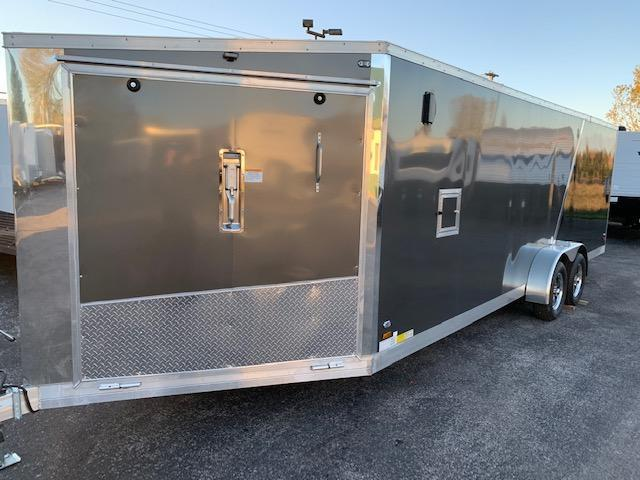 2019 Amera-Lite 7x27 Enclosed Snowmobile Trailer