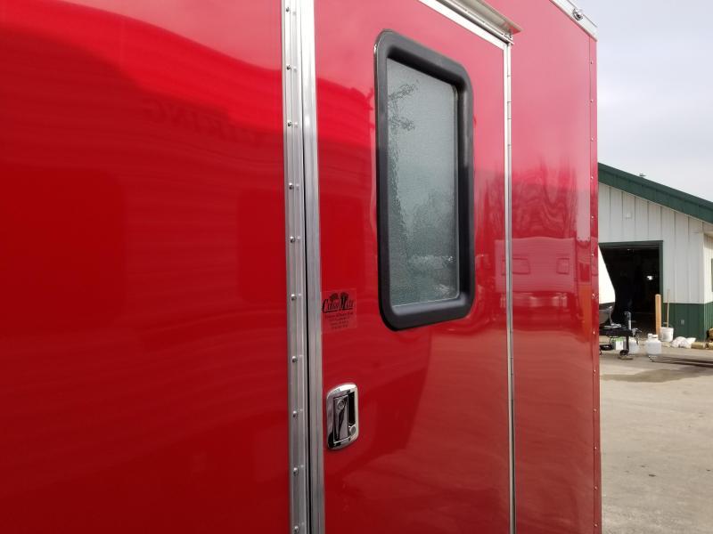 2019 Continental Cargo 7X16 UTV Enclosed Cargo Trailer