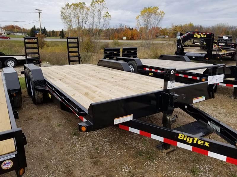 2017 Big Tex 14ET-20 Equipment Trailer