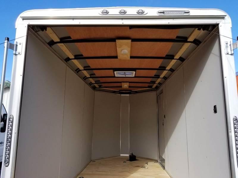 2018 Continental Cargo 6 X 12 Enclosed Cargo Trailer