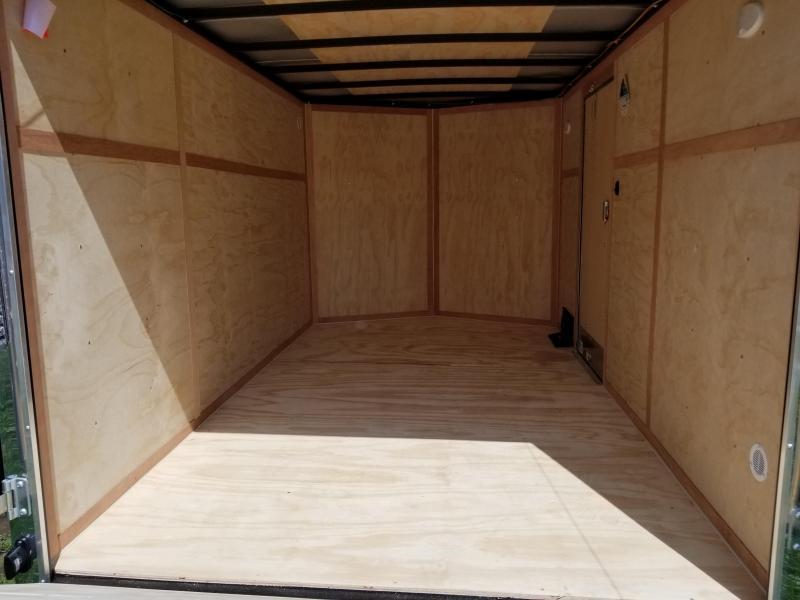 2019 Continental Cargo 7X12 Enclosed Cargo Trailer