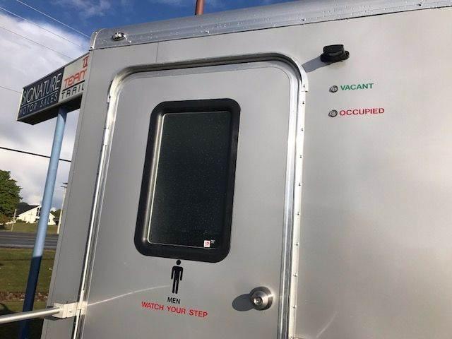 2018 Continental Cargo 12' Bathroom Trailer