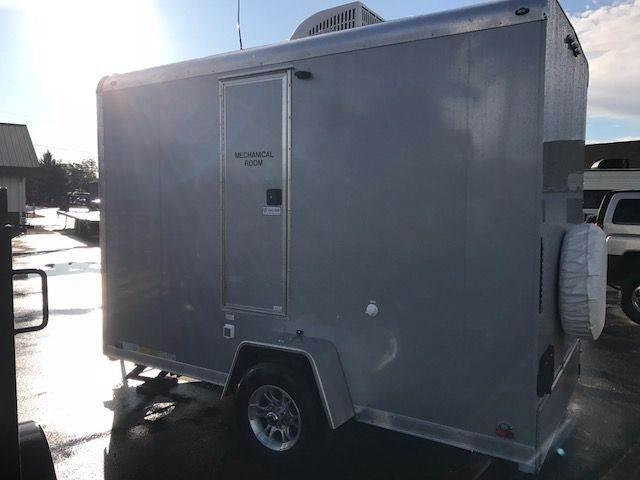 2018 Continental Cargo 12' Bathroom Trailer