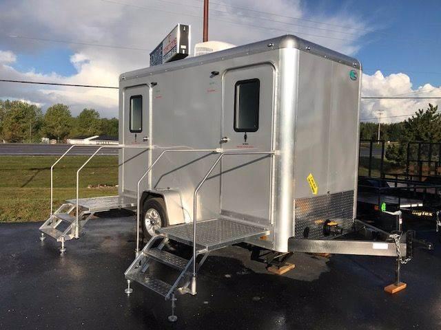 2018 Continental Cargo 12u0027 Bathroom Trailer