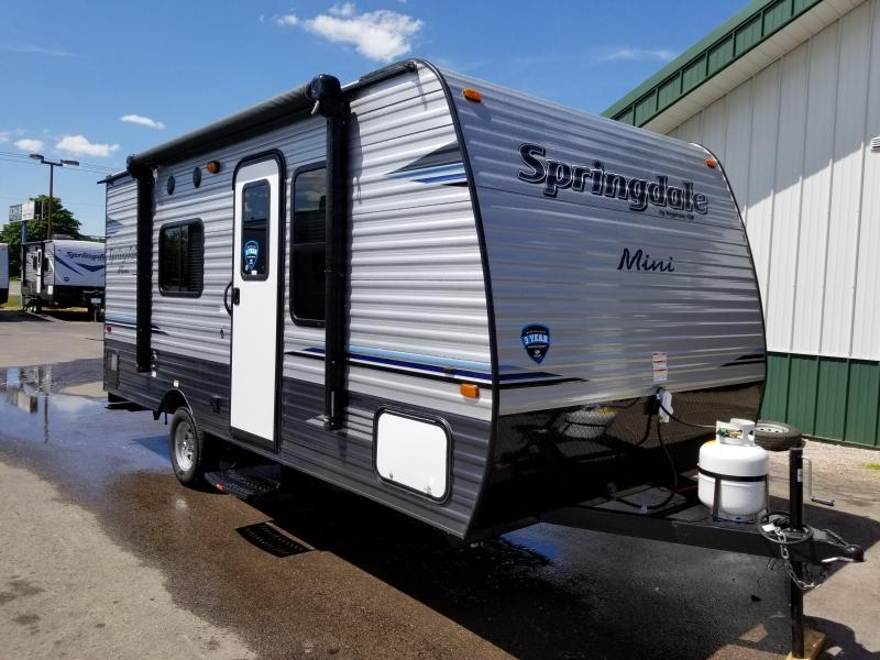 2019 Keystone RV Summerland Mini 1700fq Travel Trailer