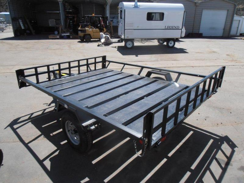 2015 Echo Trailers EEW-9-13 2PLACE SIDELOAD ATV Trailer