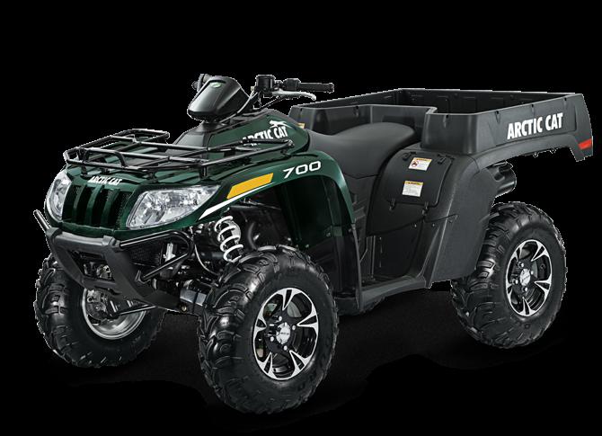 2013 ARCTIC CAT 700 TBX ATV SUV