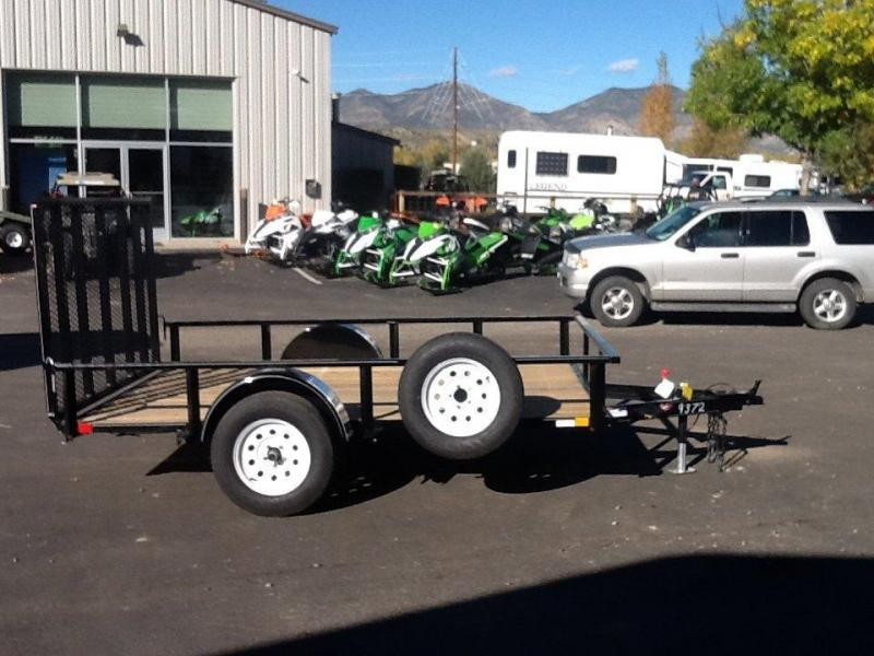 2015 H and H Trailer 8.5X10 RAIL SIDE ATV Trailer