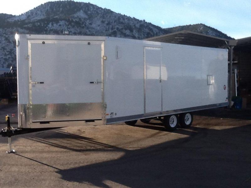 2015 Wells Cargo FTS85284 Snowmobile Trailer