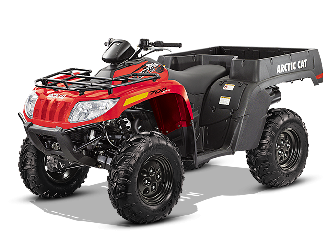 2014 ARCTIC CAT TBX 700 ATV