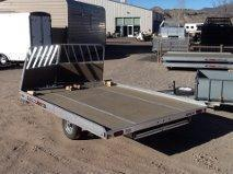 2016 Aluma 8612 13D 2PLACE Snowmobile Trailer