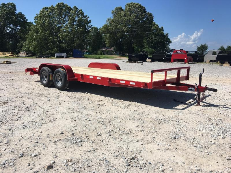 2019 Ozark 82X20 10K Preferred Equipment Trailer