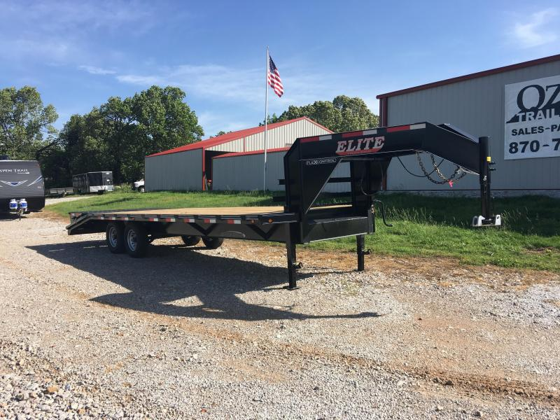2019 Elite Trailers 8.5x25 14K Flatbed Trailer