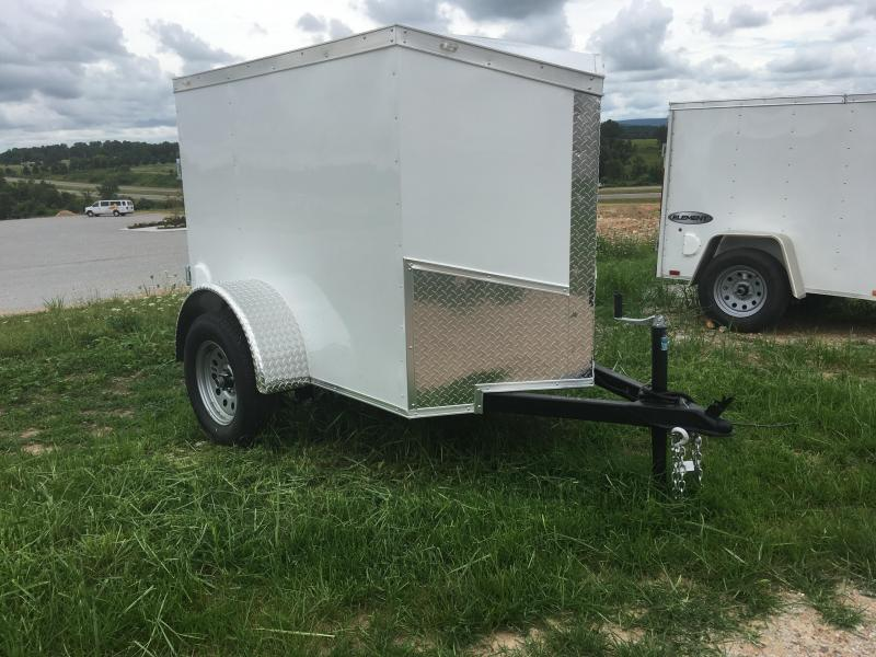 2019 Eagle Trailer 4x6 Enclosed Cargo Trailer