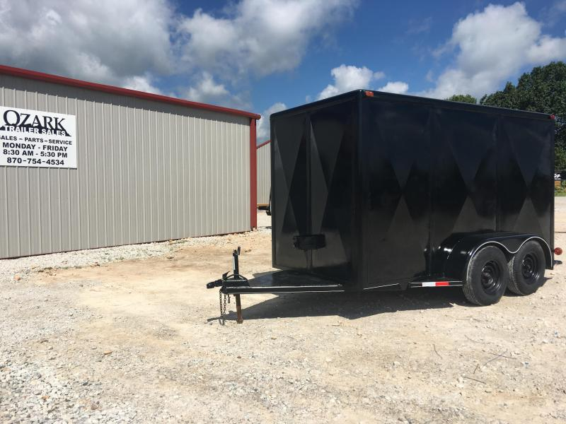 1989 Show Me MFG 6x12 10K Enclosed Cargo Trailer
