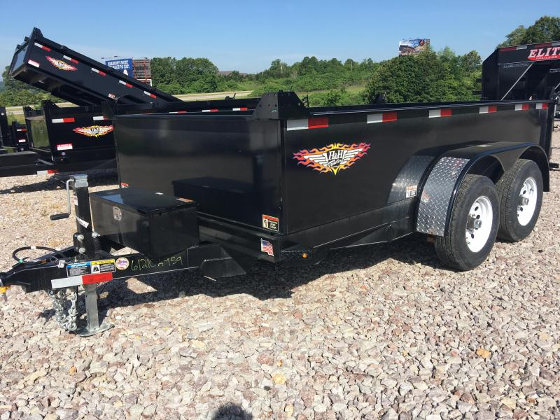 H and H 6 x 12 10K Dump Trailer