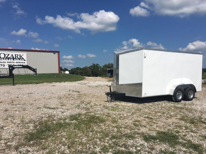 2020 Eagle 7x14 Tandem Axle Barn Door Enclosed Cargo Trailer
