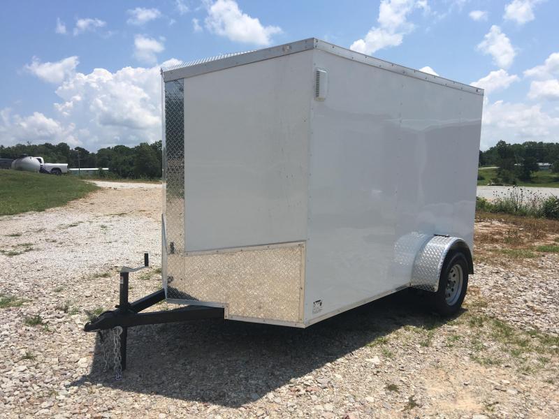 2020 Eagle 6x10 Single Axle Enclosed Cargo Trailer