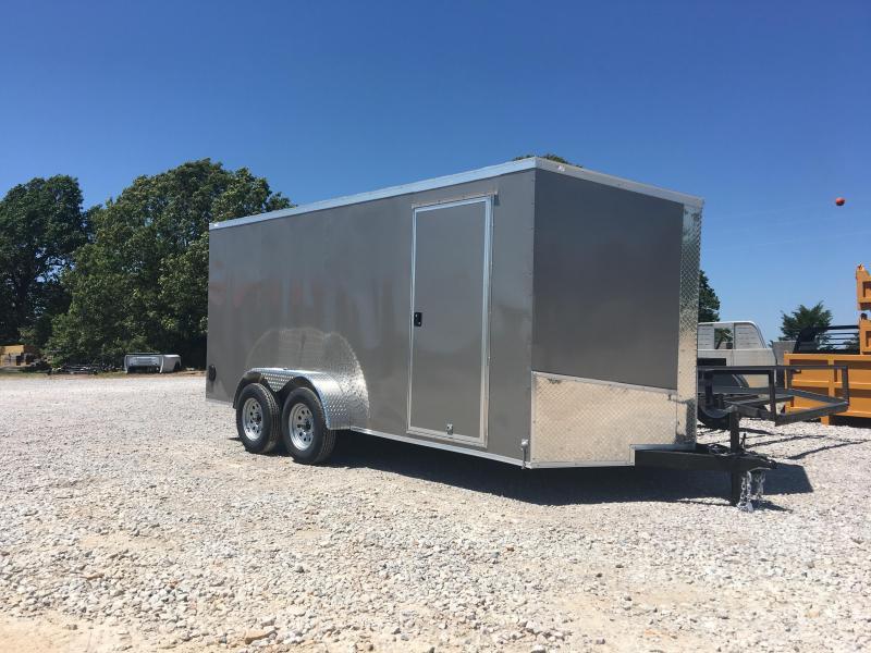 Ozark 7 X 18 Tandem Axle Cargo Trailer 7K in Ashburn, VA