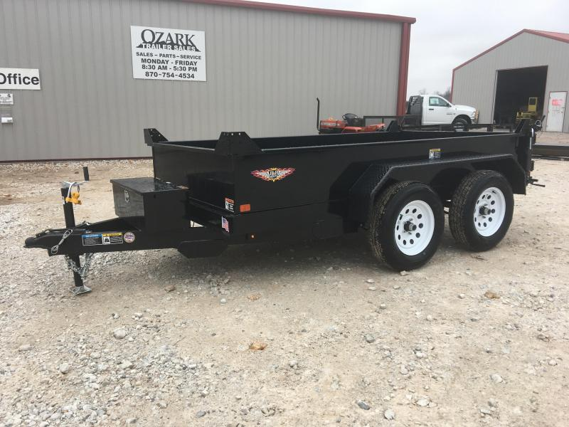 2019 H and H 5x10 Dump Trailer