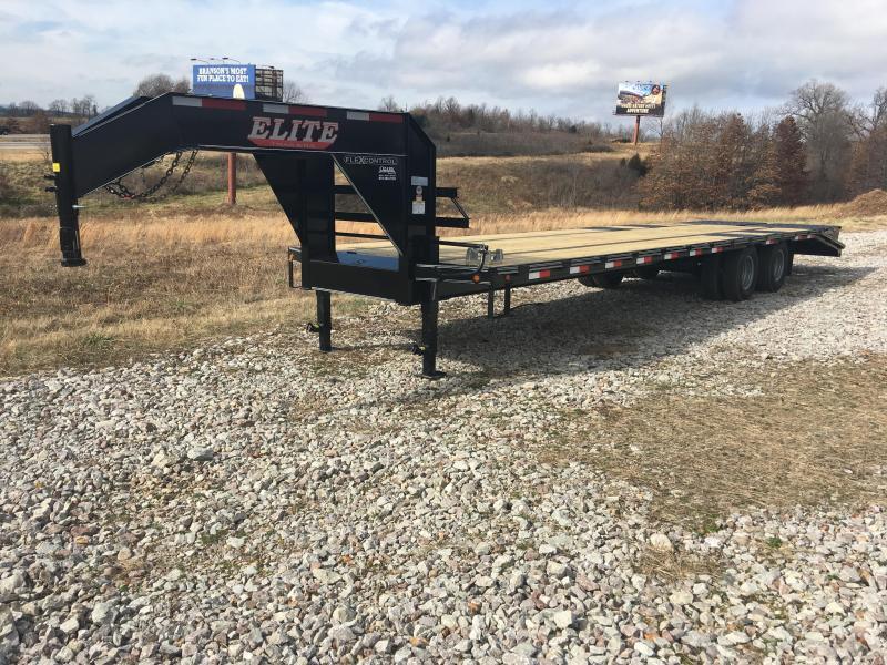 Elite 8 x 30 22K Deck Over Trailer w/ Mega Ramps