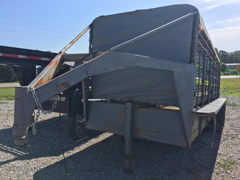 1997 6x20 10K Bar Top w/ Splitter Gate Livestock Trailer