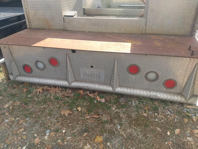 Chassis Cab Welding Bed 60 inch Cab to Axle