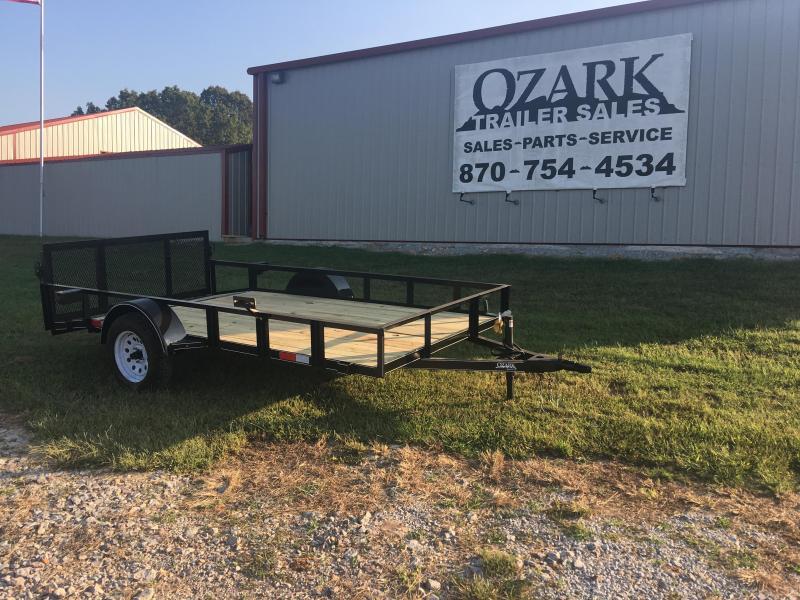 "2020 Ozark 76x12 Dovetail 30"" Gate Utility Trailer"