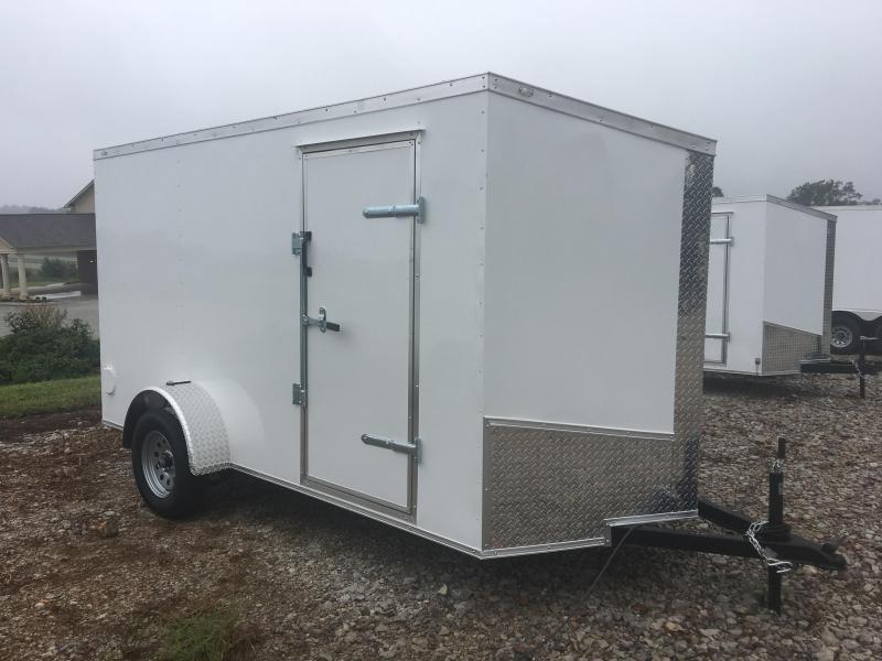 2020 Eagle 6x12 Ramp Door Enclosed Cargo Trailer