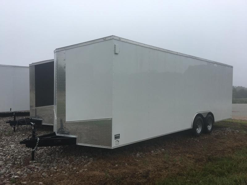 2020 Eagle 8.5x24 10K 7' Interior Height Enclosed Cargo Trailer