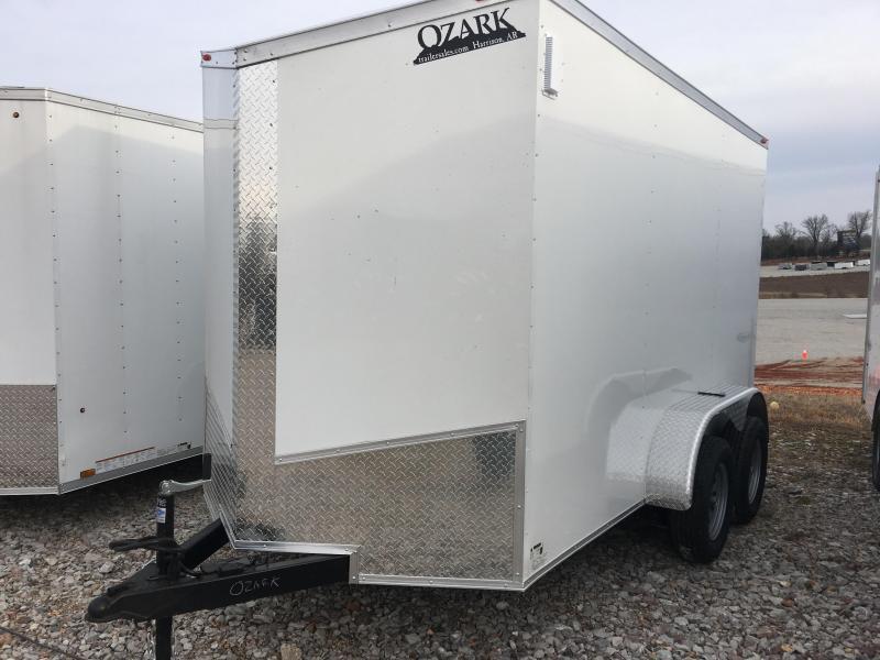 Ozark 7 X 12 Tandem Axle Enclosed Cargo Trailer 7K in Ashburn, VA