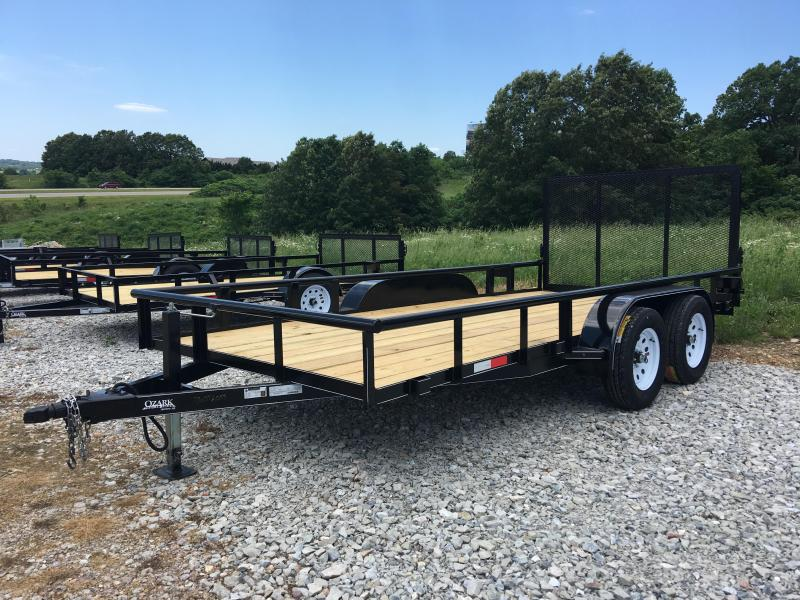 2019 Ozark 82x16 Preferred Utility Trailer