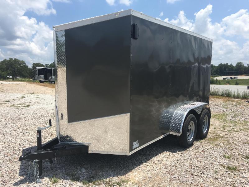 2020 Eagle 6x12 Tandem Axle E-Track Enclosed Cargo Trailer