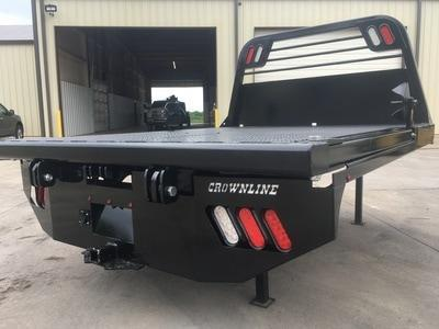 Crownline Squeeze Arm Dual Rear Wheel Truck Bed