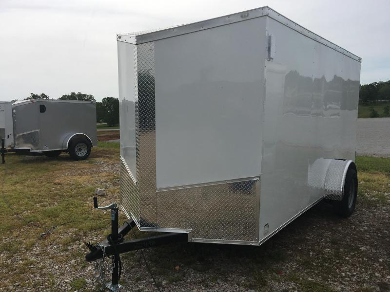 Ozark 7 X 10 Enclosed Cargo Trailer 3.5K