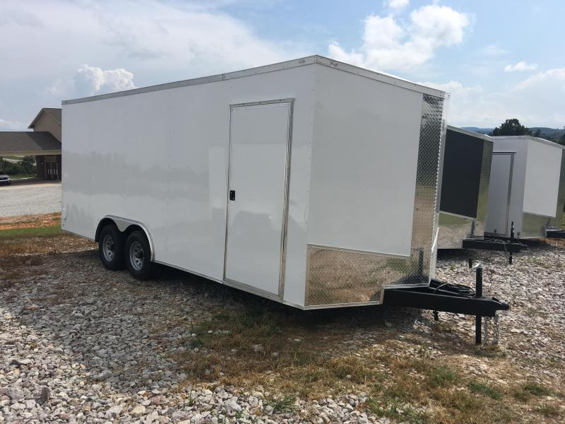2020 Eagle 8.5x20 10K 7' Height Enclosed Cargo Trailer