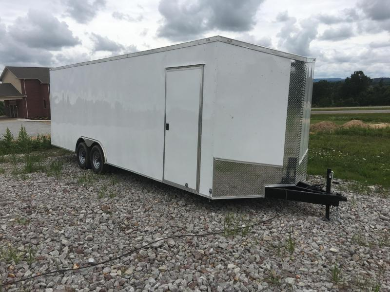 Ozark 8.5 X 28 Enclosed Car Hauler 10K