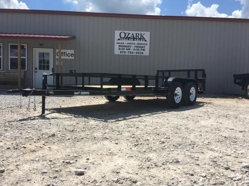 2020 Ozark 76x16 7K Utility Trailer