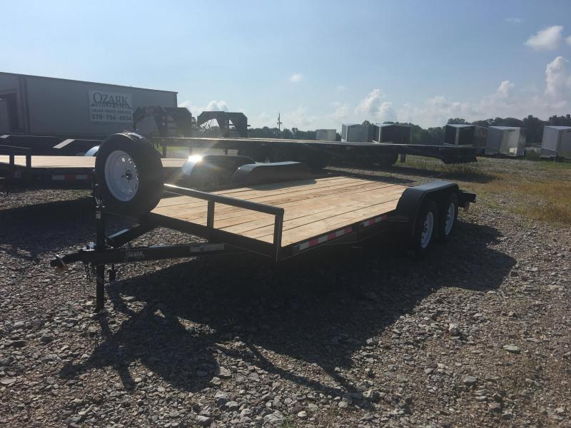 2019 Ozark 82x18 Low Profile Equipment Trailer in Lowell, AR