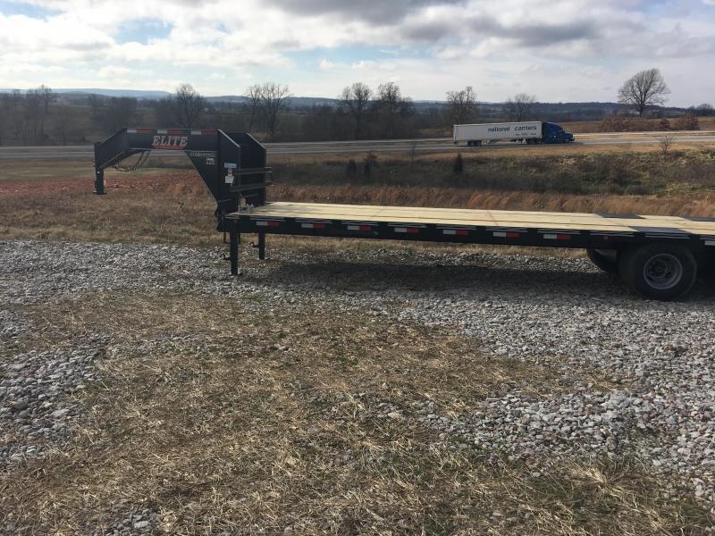 Elite 8 x 32 22K Deck Over Trailer w/ 2x Pop Ramps