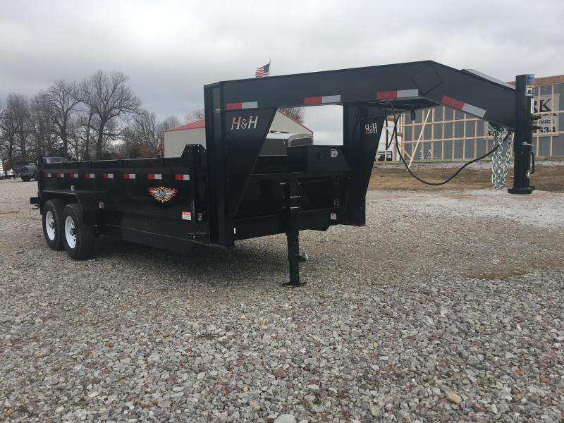 Elite 7 x 16 14K Gooseneck Dump Trailer in Ashburn, VA