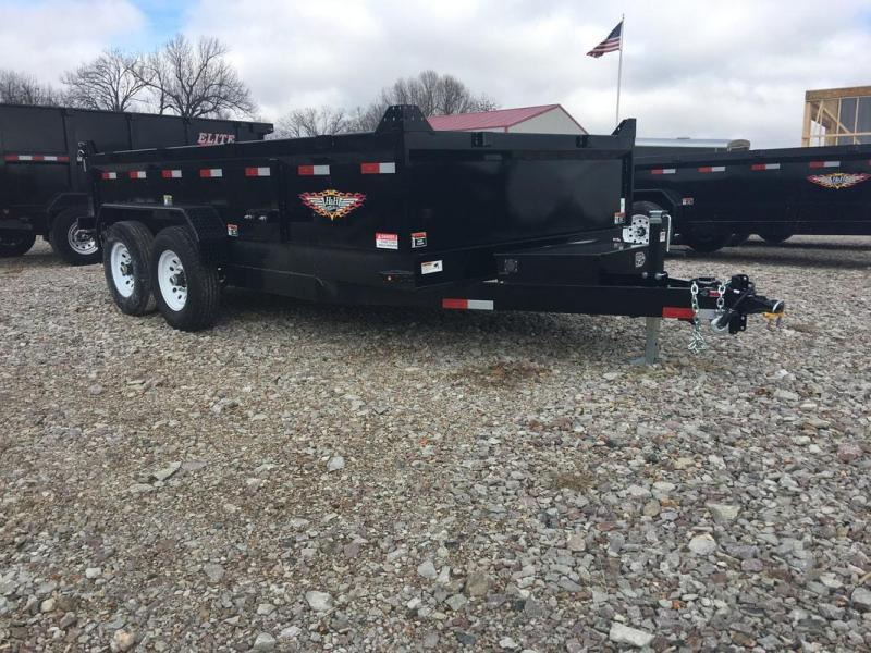 H and H 82 X 14 14K Dump Trailer