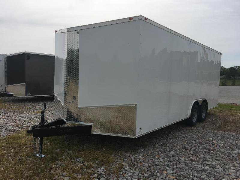 Ozark 8.5 X 20 Enclosed Car Hauler 7K