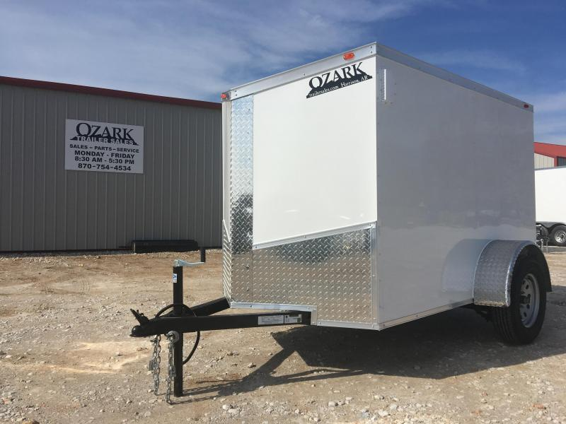 Ozark 8 X 10 Enclosed Cargo Trailer 5' Height